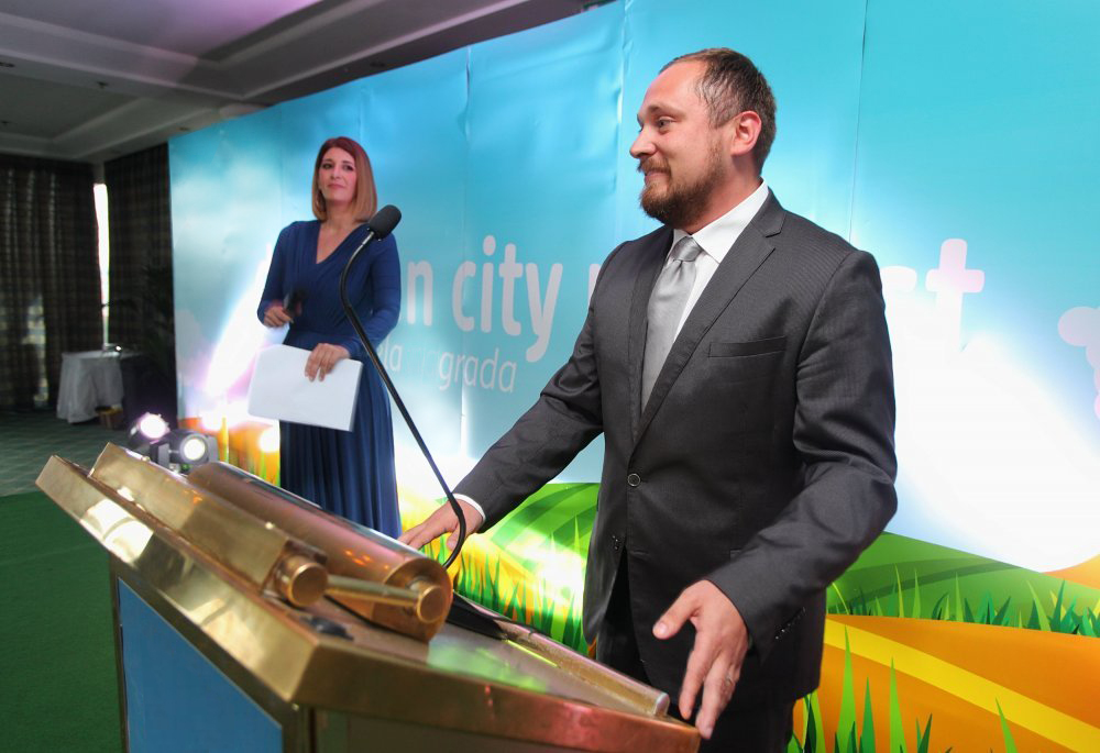 Press konferencija Green City Project 2018 Marko Lasić